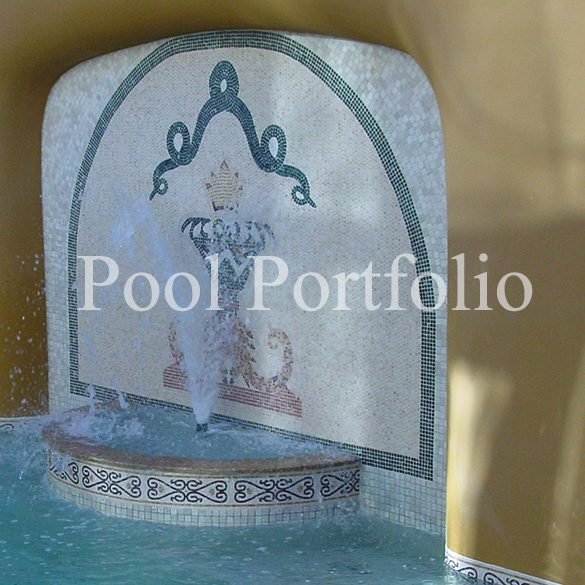 Custom Pool Tile